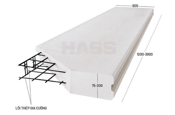 tấm panel ALC vật liệu xây dựng mới