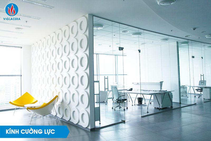 Kính cường lực là sản phẩm nổi bật nhất trong dòng các sản phẩm kính xây dựng