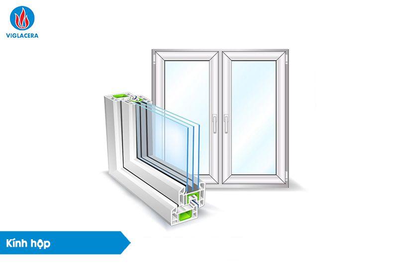 Ảnh 5: Kính hộp - giải pháp cách nhiệt cửa kính tuyệt vời