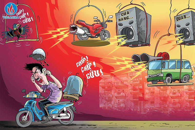 Tiếng ồn ảnh hưởng nghiêm trọng đối với sức khỏe của con người