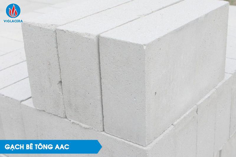 Gạch bê tông AAC có thể tái sử dụng