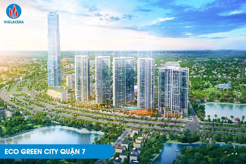 Ảnh 4: ECO Green City Quận 7, Thành phố Hồ Chí Minh - Công trình sử dụng kính TKNL Solar Control
