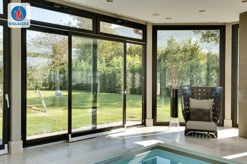 Cửa nhôm kính, cửa sổ nhôm kính là một phần không thể thiếu trong mỗi ngôi nhà
