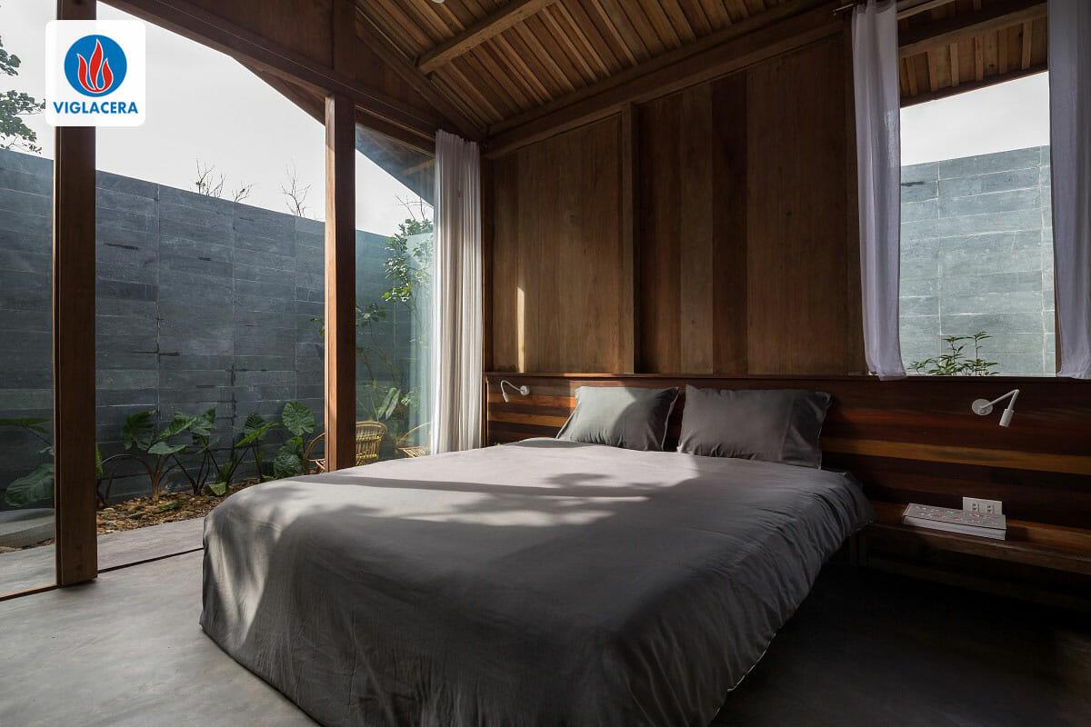 Phòng ngủ ngập tràn ánh nắng