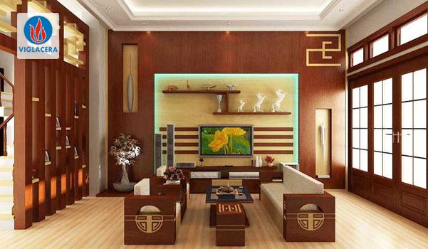 Chất liệu sang trọng, bền bỉ tạo nên một món đồ nội thất nhà đẹp, ấn tượng