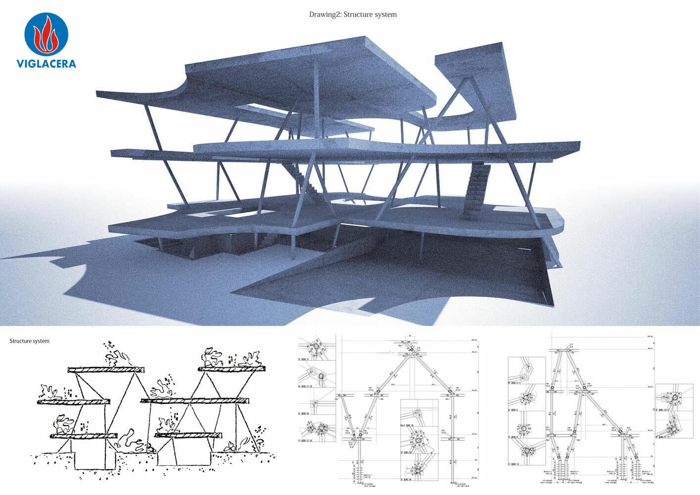 """Cấu trúc """"có 1 không 2"""" của Earth House"""