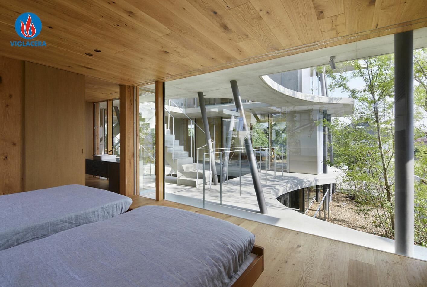 Kiến trúc của sự tự do, khoáng đạt, tận dụng triệt để diện tích