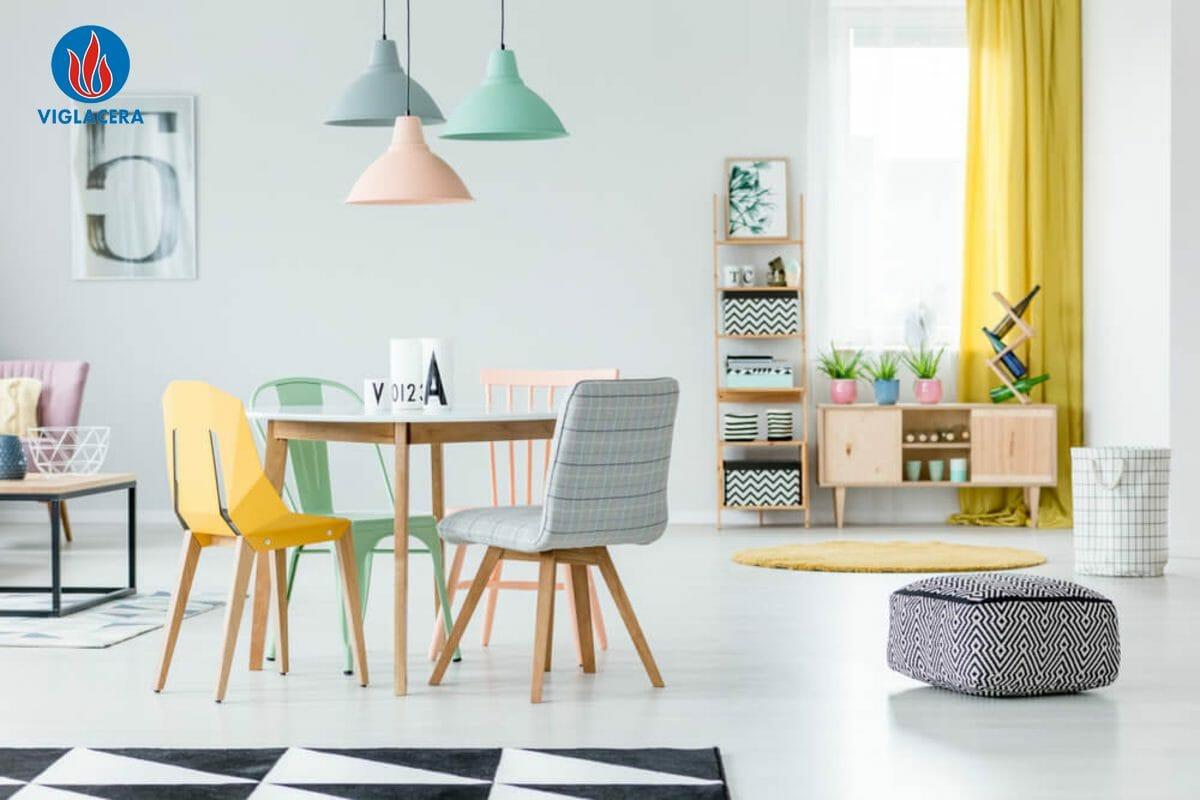 Biến căn phòng trung tính thành phòng với nhiều màu sắc năng động